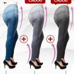 Slim Jeans – Blugi cu efect de push-up, trei perechi la pret de una!