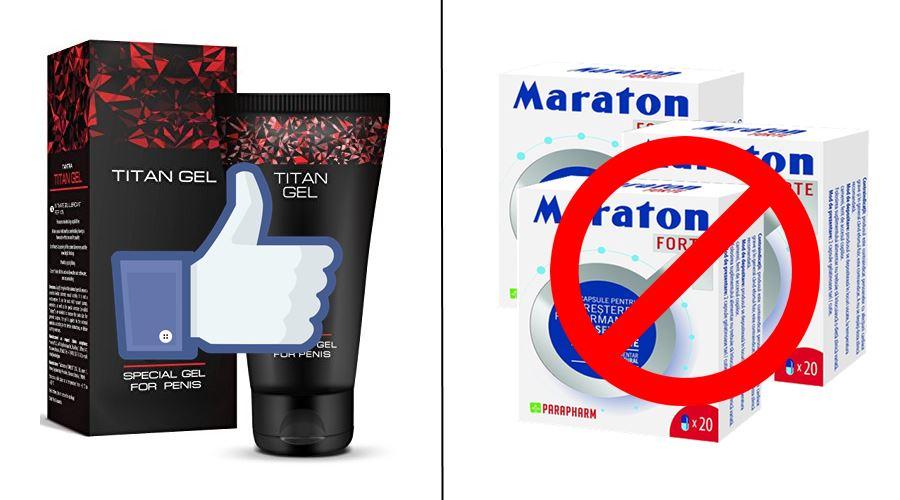 titan gel vs maraton forte