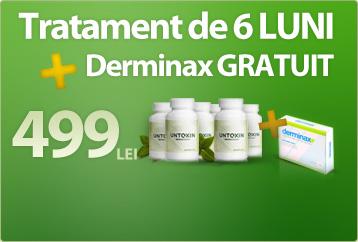 Untoxin + Dermimax = pachet promotional
