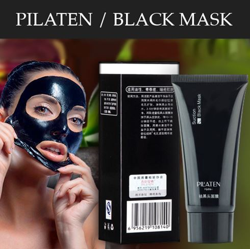 Pilaten Black Mask te ajuta sa scapi de acnee si enervantele puncte negre