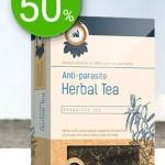 Herbal Tea este un ceai antiparazitar monahal, care te ajuta sa iti cureti organismul de paraziti si toxine