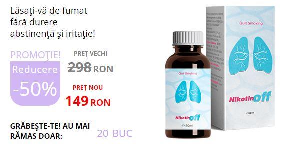 Nikotinoff pret