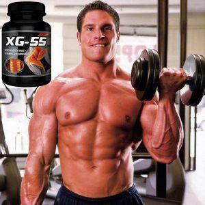 XG-55 – te ajuta sa castigi mai multa masa musculara si sa ai o forta de invidiat